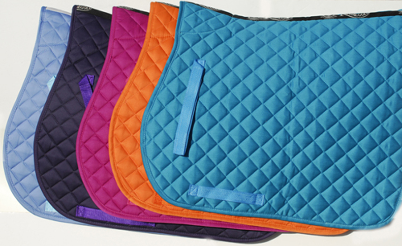 saddle cloth, numnah, quilted numnah, saddle pads, saddle pad