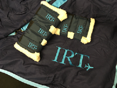 IRT, Horse Transport, embroidery, bespoke,