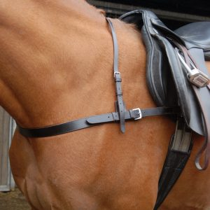 Polo breastplate, full grain leather, leather tack, equestrian tack, polo horse tack, polo ponies,