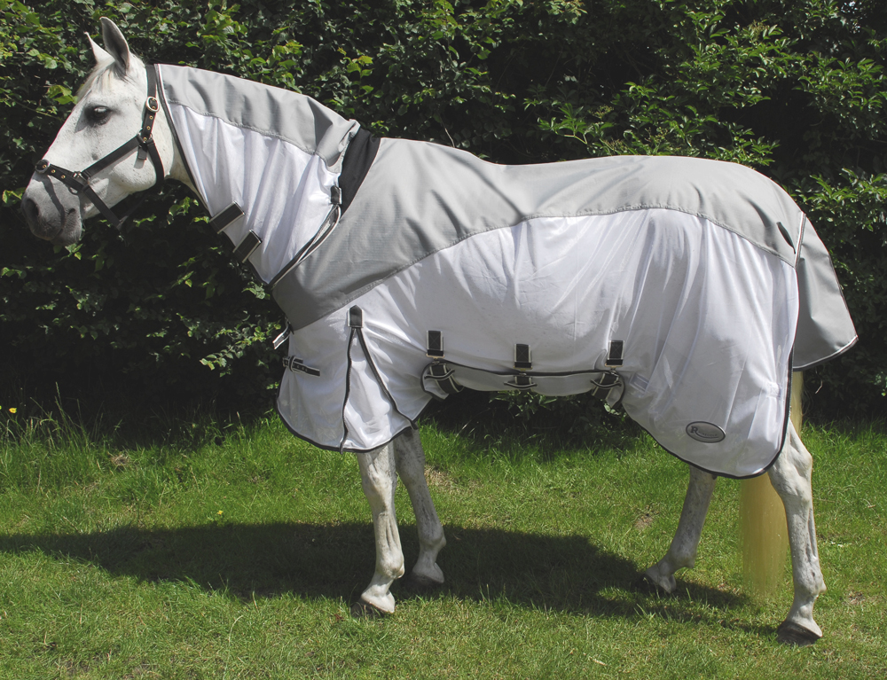 Rhinegold Masai2 Full Neck Combined Fly Rug With