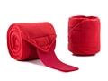bandages, red, polo, navy polo bandages, navy bandages, leg protection, fleece bandages,