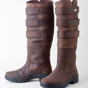 long boots, winter boots, yard boots, leather boots, rhinegold,