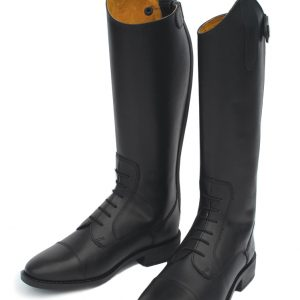 young rider leather boot, leather riding boots, berling leather riding boot