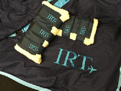 IRT, Horse Transport, embroidery, bespoke,