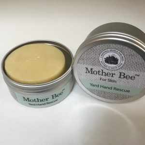 hand balm, mother bee, Mother Bee, balm, yard hands,