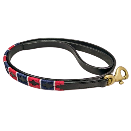 leather dog lead, Argentinean dog lead,polo style dog lead, leather dog lead
